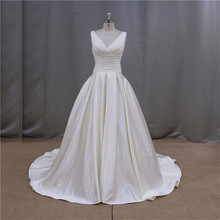 heart shaped back red corset top wedding gown 2012