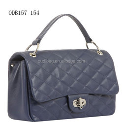 Latest design high quality PU leather women's vantity bag