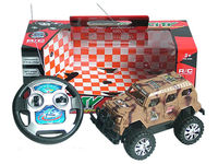 Hot selling 4ch rc toy car army jeep passed all report
