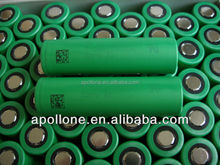 The highest discharging current of model green battery vtc4 18650 battery 2100mah
