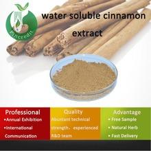 Herbal extract Cinnamon Bark Extract/Cortex Cinnamomi Cassiae/water soluble cinnamon extract