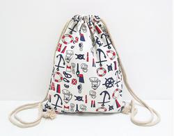 Encryption Density Hiking Drawstring Bag