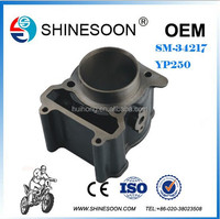 250cc motorcycle cylinder block with piston kit,motorcycle engine parts