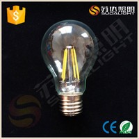 A60 360 degree filament E27 led light bulb