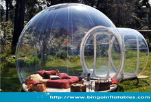 Transparent Inflatable Bubble Tent Camping Tent Crystal Bubble Tent