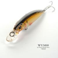 WYM08 70mm 7g Minnow Hard Plastic Fishing Lures Artificial Hard Bait