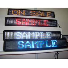 Indoor/semi-outdoor p4.75 led speed limit sign