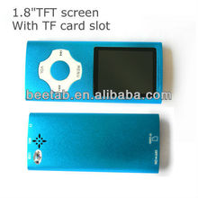 1.8inch TFT 4th mp4 8gb with FM radio/video/recorder music player
