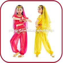 De Halloween traje de la danza led chicas danza de vientre del traje venta PGHW-2544