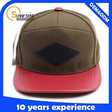 5 panel hat wholesale/classic brand cap hat/europen men hat