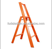 Yellow Color Aluminium Household Step Ladder with EN131