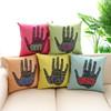 The new high-grade creative pop style cotton -linen sofa cushion covers