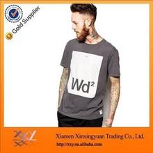2015 high quality 100% cotton fashion OEM custom o-neck men's t shirt