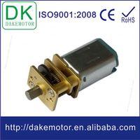 10~13mm low speed high torque 1.5v dc low rpm motor