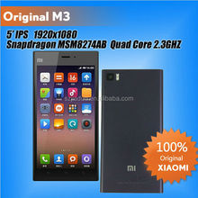 "Xiaomi Mi3 M3 SmartPhone Qualcomm 800 CPU 2.3GHz Quad Core Android Phone 5.0"" FHD 441PPI 13.0Mp Camera WCDMA/GSM paypal"