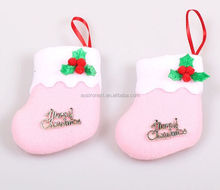 manufacturer china best quality Christmas Stocking christmas decorations
