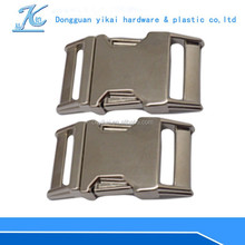 "1"" wholesale metal buckles,1"" inch curved pet collar buckle hot sale"