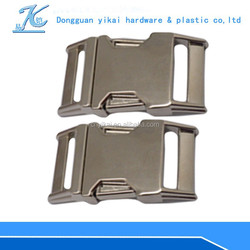 """1"""" wholesale metal buckles,1"""" inch curved pet collar buckle hot sale"""