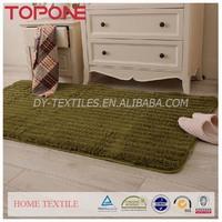High quality oem hangzhou colorful good hand feeling plush crazy carpet