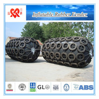Tyre net style & Rubber-net style & Rope-net style marine inflatable rubber fender