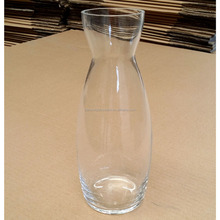 Factory Supply Mouth Blown Glass Pitcher, Water Pitcher