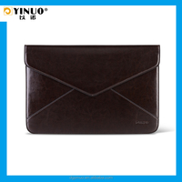 YINUO Manufacturer PU leather Laptop Sleeve for Tablet 11.6/13.3