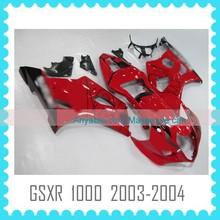 motorcycle fairing kit body kit body work for SUZUKI GSXR1000 K3 2003 2004