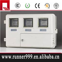 made in china 220V electrical energy low voltage single phase SMC meter box
