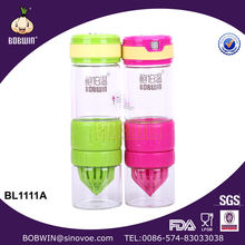 2014 Hot Sale Glass Lemon Juice Maker Bottle With Fliter