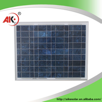 Wholesale china import 50w high-efficiency polysilicon silicon solar module