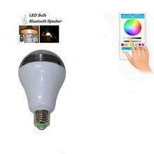 Smart LED Light Wireless Bluetooth Speaker E27 5W LED Bulb for iPhone