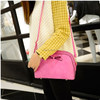 Fashion women pu leather bag , small shell shape pu shoulder bag , pu messenger bag