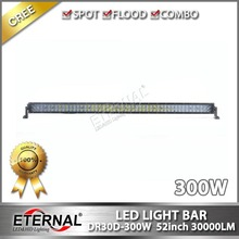 52in 300W spot flood combo high brightness offroad ATV UTV SUV CUV 4WD truck trailer led light bar