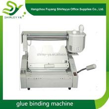 cheap price hot melt book binding machine glue machine