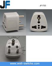 Certified international standard electrical plug socket, multiple plug socket