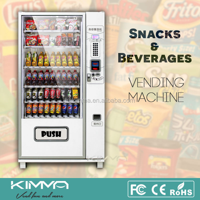 vending machine product prices