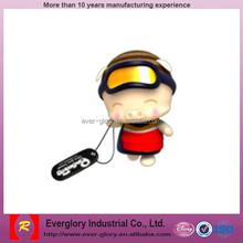 Lovely Cartoon Character Plastic BABAPIG Toy Figure BABAPIG Keychain