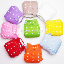1PCS Reusable Baby Infant Nappy Cloth Diapers Soft Covers Washable Size Adjustable Fraldas 7 Colors