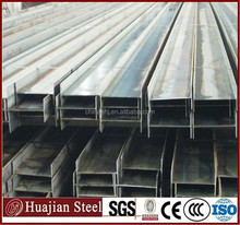 Q235/ SS400/ A36 Hot rolled structural construction steel H shaped beam construction profiles beam