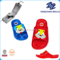Kid pvc air blowing sole mold shoes