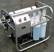 skid portable RO seawater desalination system/RO marine desalination system