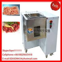 QW-6 stainless steel automatic mutton cutting chopping stripping machine