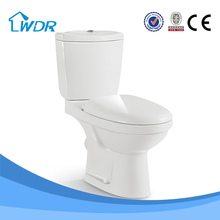 Bathroom washdown two-piece corner ceramic sanitary ware toilets