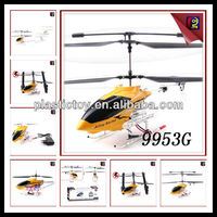New Style 3CH Remote Control Helicopter (Gyro) Gas Powered RC Helicopters Sale RC Helicopter 9953G