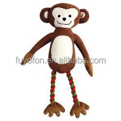 Amy Carol big foot series monkey shape pet toys for dog