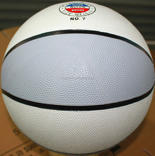 Quality Crazy Selling official yellow rubber basketball 2015