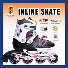 Factory Wholesale 72*24mm Four Wheel Roller Skate Type Quad Inline Skate Shoes For Adults