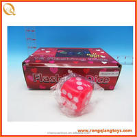 New design Flashing Dice 12pcs/box with great price SP718120143A10