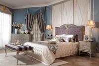 neoclassic solid wood bedroom furniture