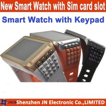 2015 hot 1.77 inch touch screen QWERTY keypad cheap bluetooth big screen new model watch mobile phone